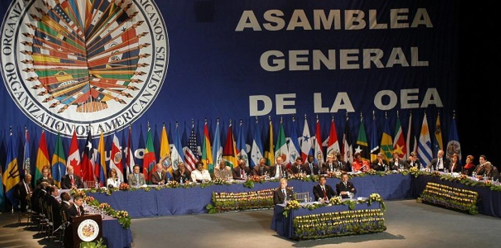 Zapatero, Torrijos y Fernández asisten a OEA para hablar de Venezuela