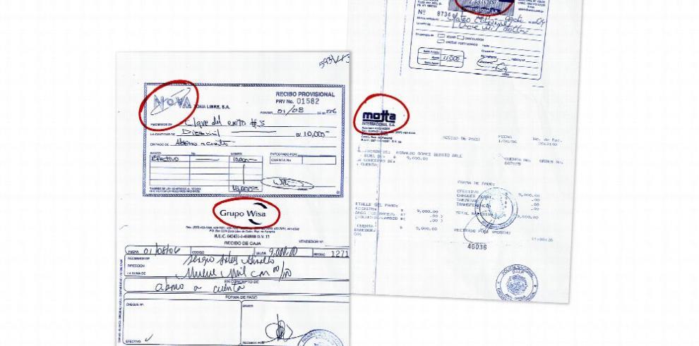 Aparecen las facturas que originaron pesquisas de EEUU
