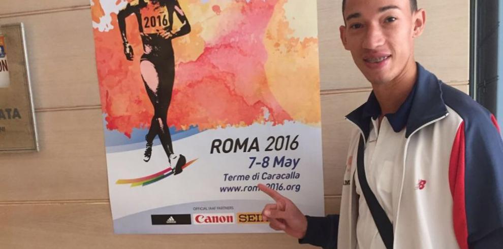 Yasser Cabrera, a toda marcha, busca los Juegos Olímpicos