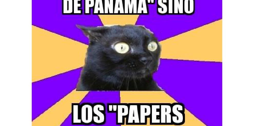 Cibernautas crean memes ante escándalo, 'Los Papeles de Panamá'