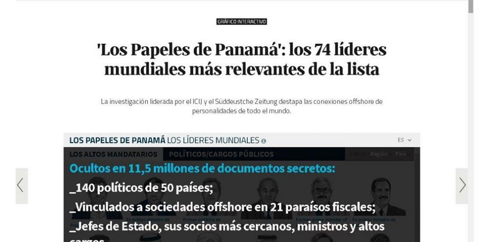 Mossack Fonseca en escándalo mundial de firmas 'fantasma'