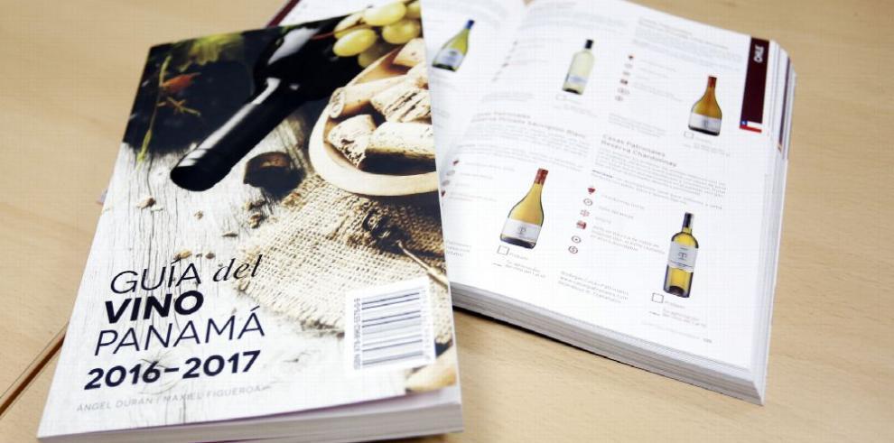 Presentan la primera guía de vinos de Panamá