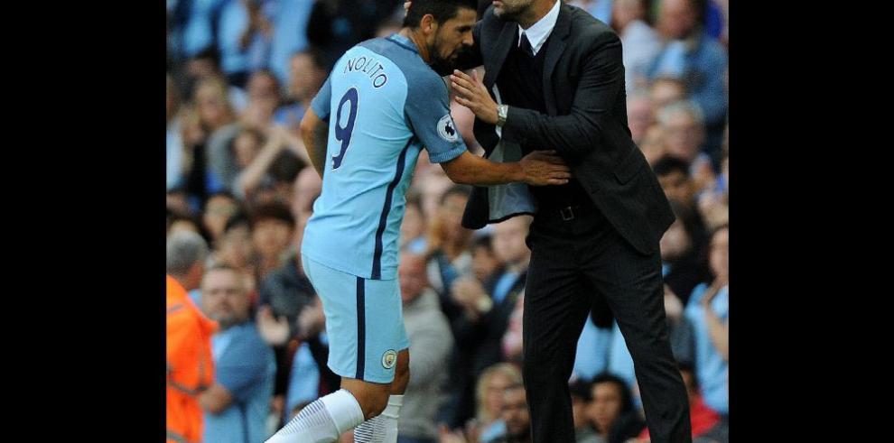 Guardiola debuta con triunfo con el Manchester City