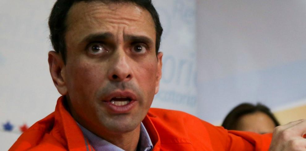 Capriles no ve