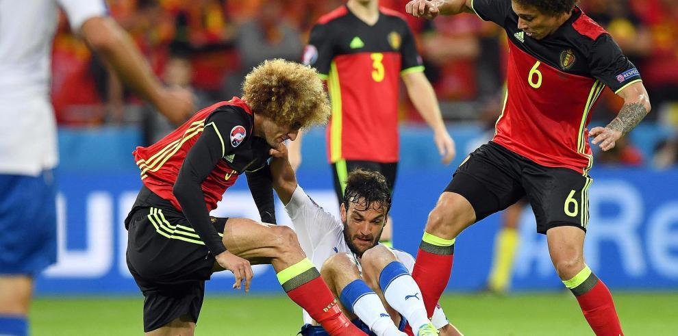 Italia le gana a Bélgica y da una lección de oficio