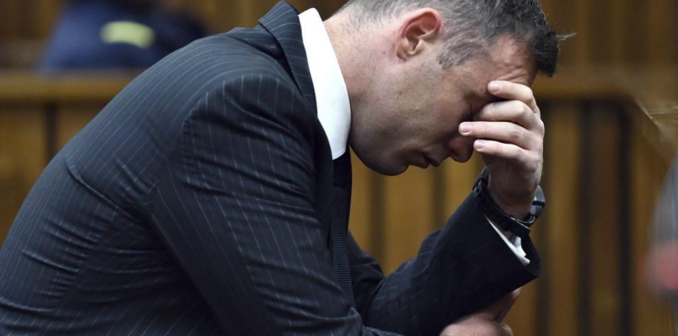 Pistorius apela a una depresión para intentar atenuar su condena