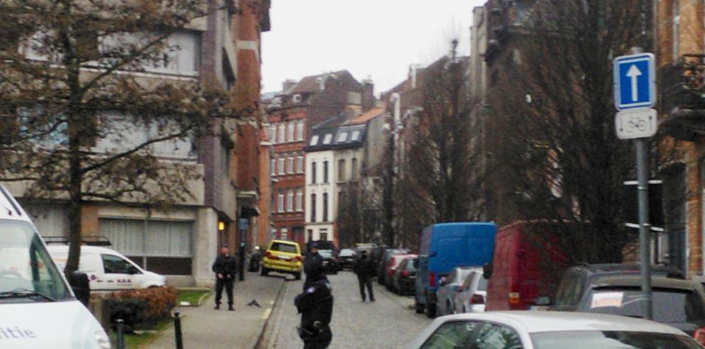 Operativo policial en busca de Salah Abdeslam en Bruselas