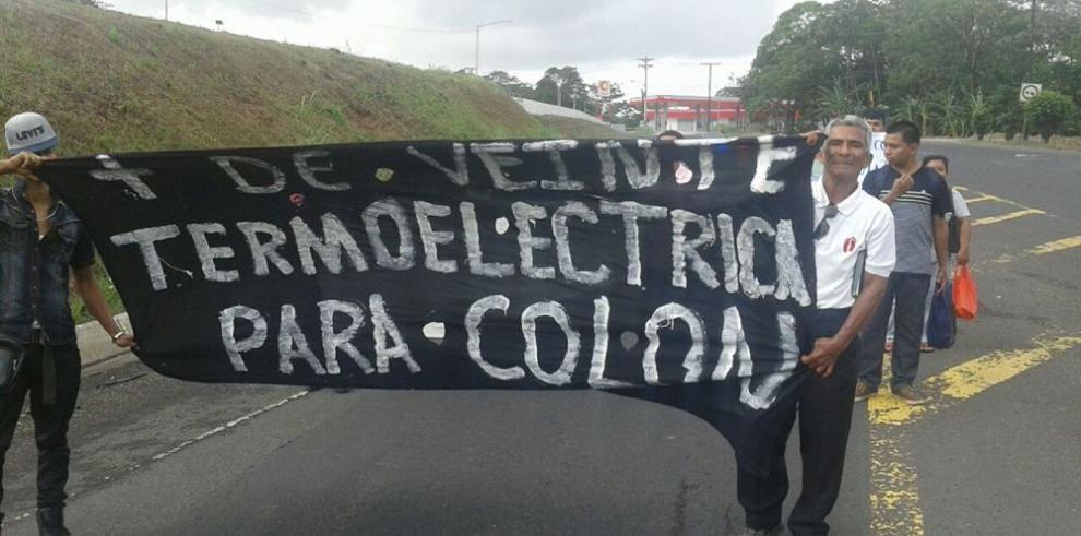 Marchan contra termoeléctrica