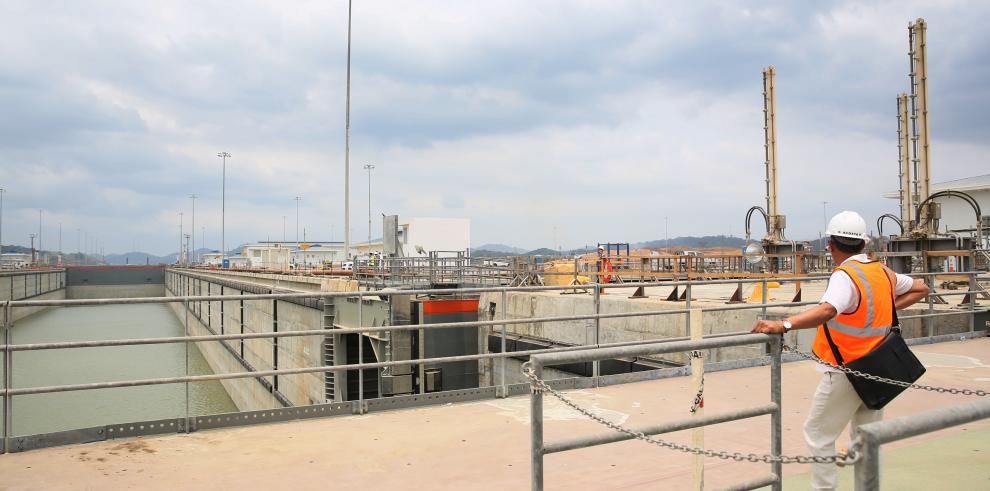 Anunciarán fecha de inauguración de las nuevas esclusas este miércoles