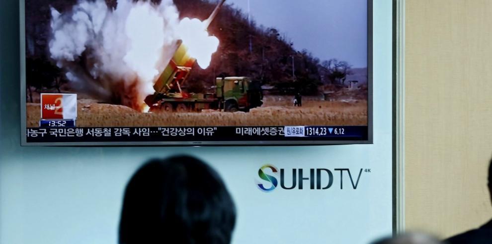 Corea del Norte desafía con prueba de misiles balísticos
