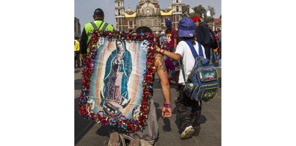 Católicos festejan la devoción de la Virgen de Guadalupe
