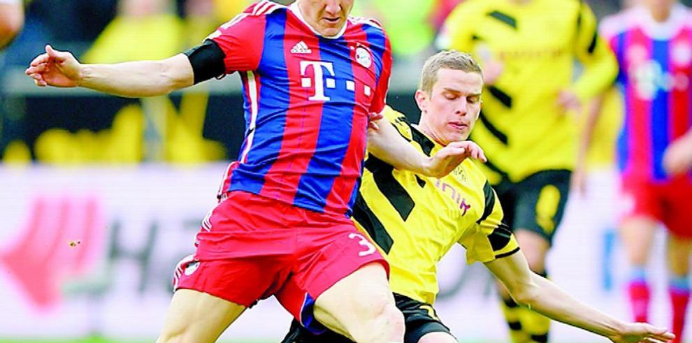 Duelo entre Bayern Múnich y Dortmund, el plato fuerte