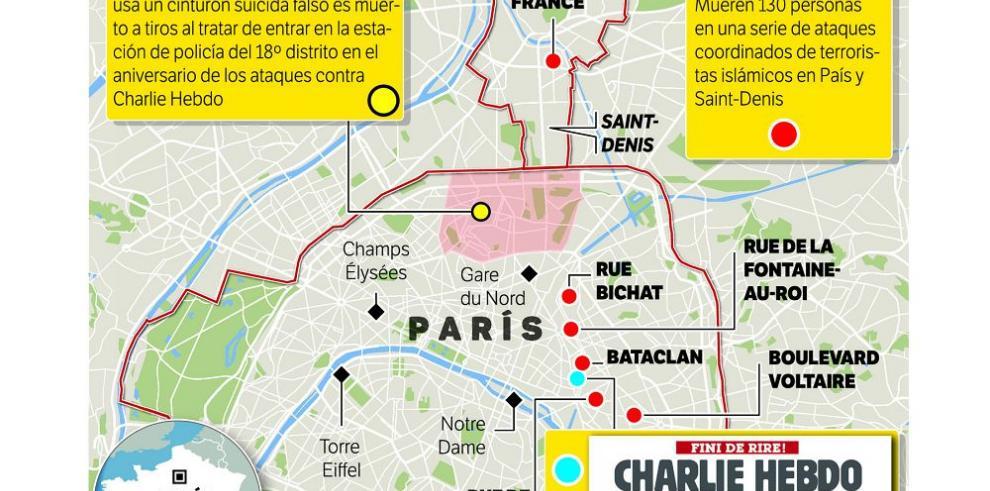 """Terrorismo a un año de """"Charlie Hebdo"""""""