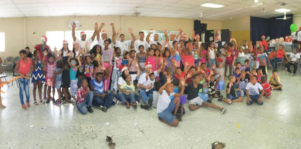Voluntarios de Cervecería Nacional celebran una Navidad Solidaria