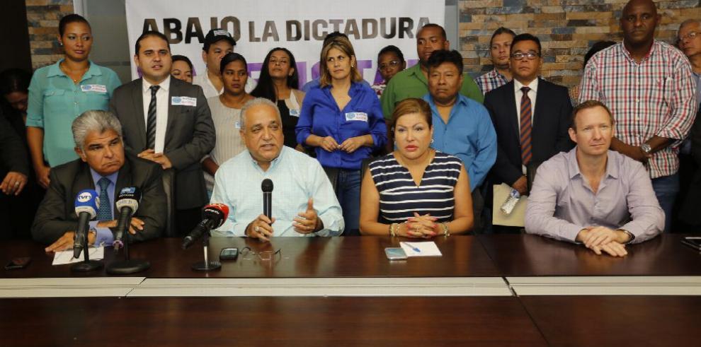 CD saldrá a las calles a protestar contra el gobierno de Varela