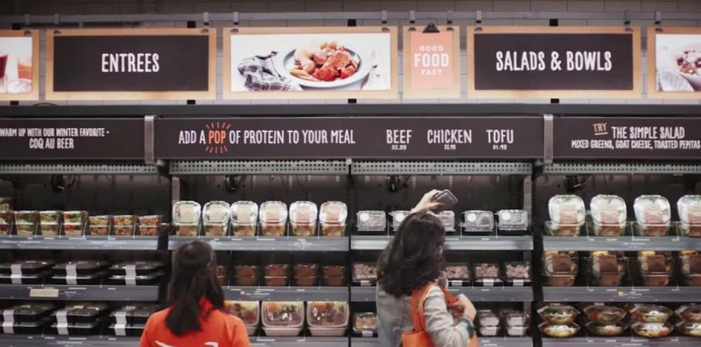 Amazon lanza su primer supermercado