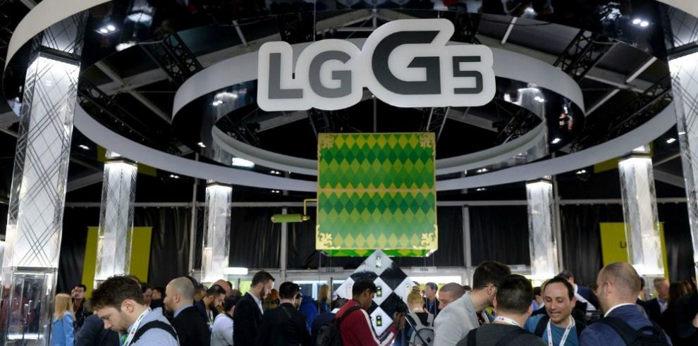 LG lanzó su nuevo teléfono G5