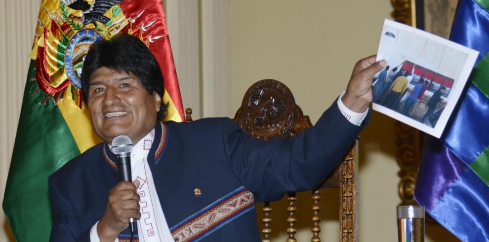 Evo desafía a opositores a que le revoquen el mandato en Bolivia