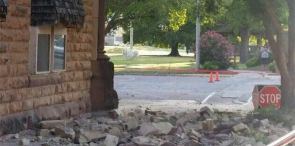 Varios edificios afectados tras sismo de 5,6 en Oklahoma, EE.UU.