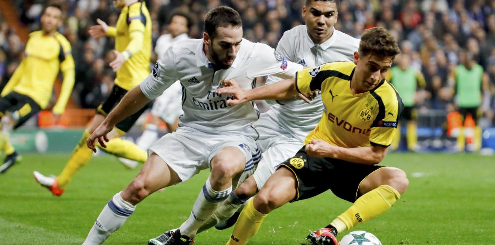 Real Madrid empata 2-2 ante el Dortmud