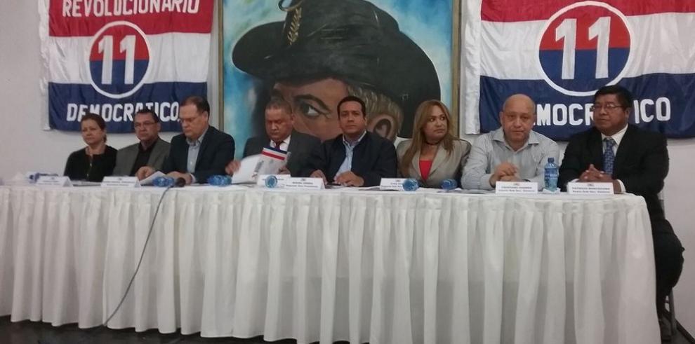 PRD pone en marcha estrategia opositora