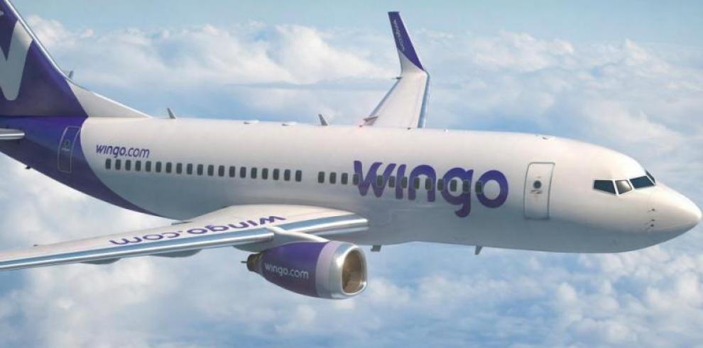 Wingo una aerolínea de bajo costo que vuela todos los días a Colombia