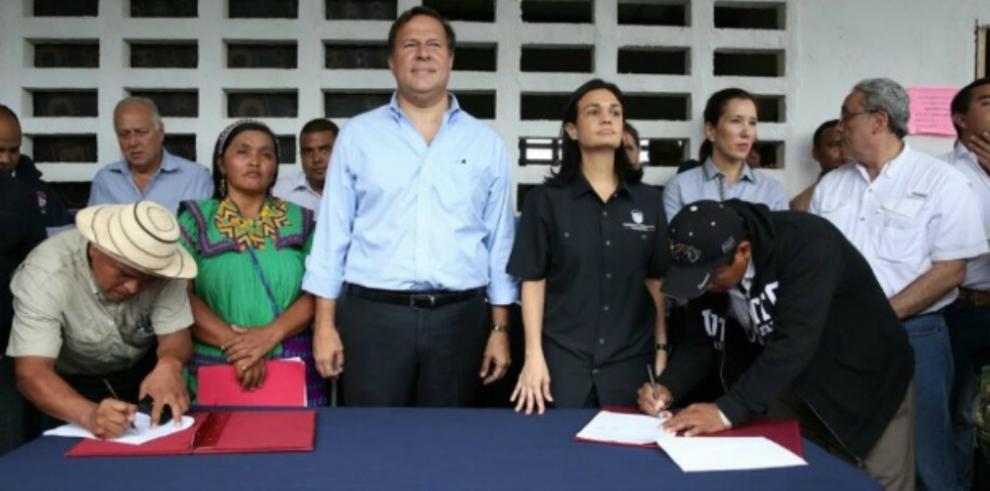 Gobierno reitera que componentes del acuerdo firmado se dieron a conocer
