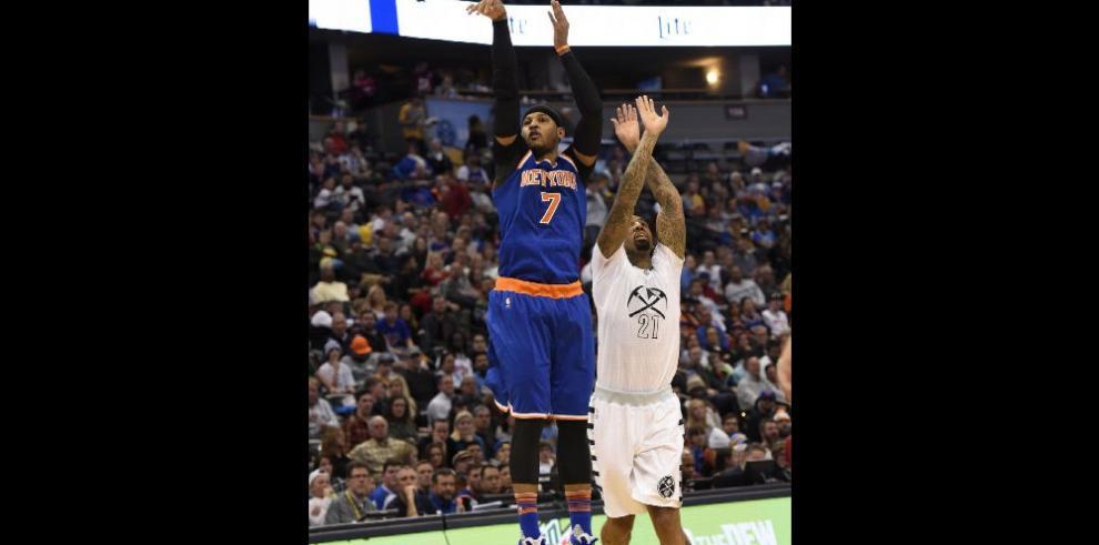 Los Knicks de Nueva York se hacen sentir con más fuerza