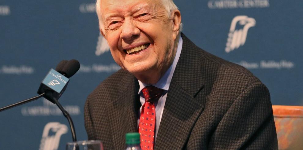 Jimmy Carter deja la organización