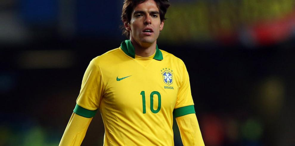 Kaká cree que la Copa América servirá a Brasil para mejorar