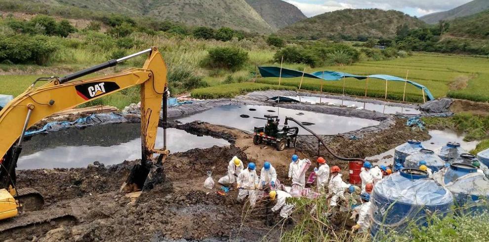 PetroPerú niega derrame de un oloeducto