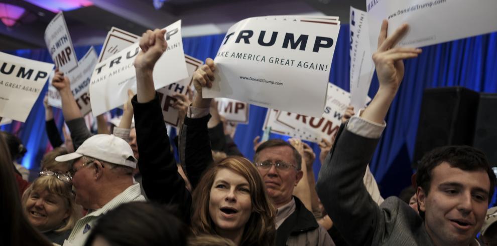 Trump vence con holgura en primarias republicanas de Carolina del Sur