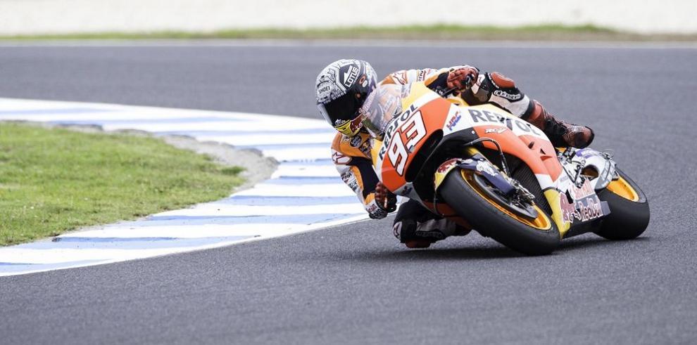 Márquez, el más rápido en el GP de Phillip Island