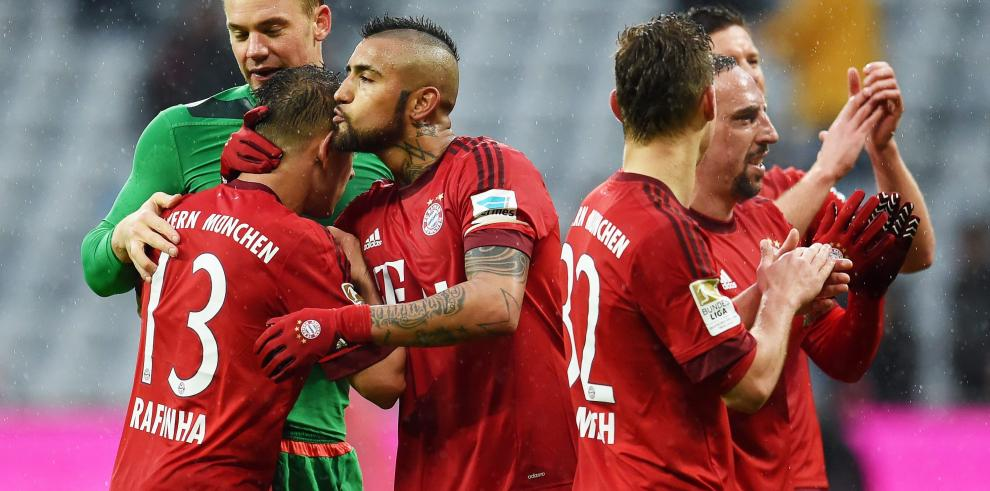 Bayern remonta ante Darmstadt (3-1) y mete presión al Dortmund