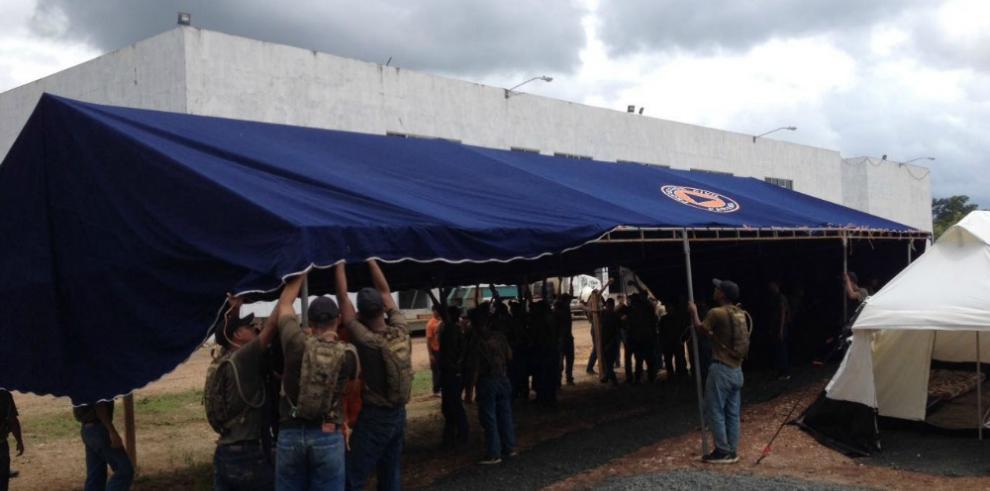 Panamá instala dos campamentos humanitarios en Darién para migrantes