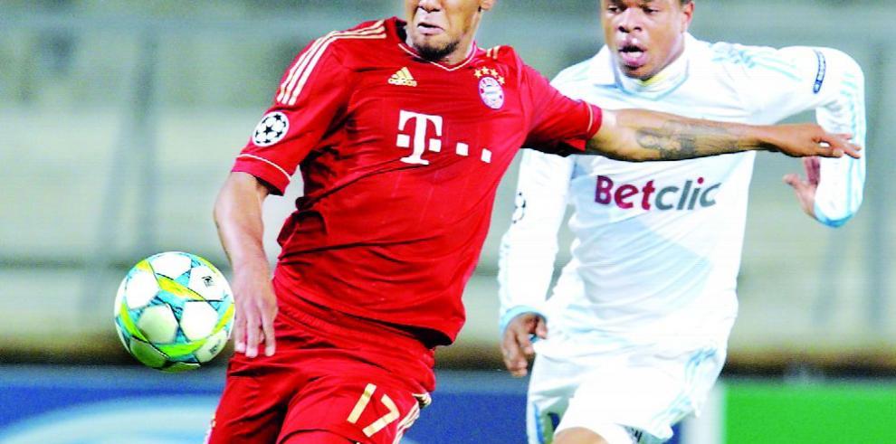 Boateng, el mejor jugador del año en Alemania