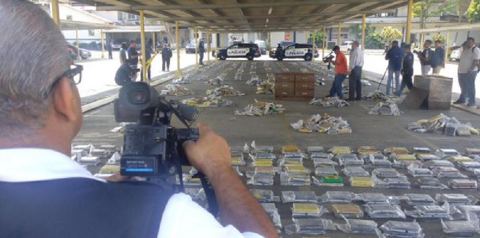 Policía Nacional decomisó más de 1,5 toneladas de cocaína
