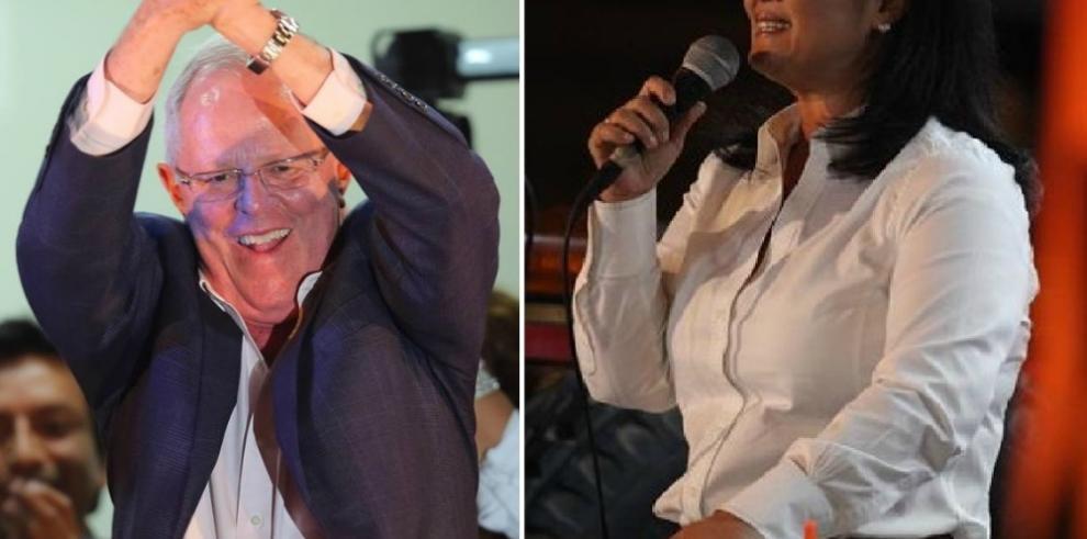 Elecciones en Perú al 92,6 %: PPK con 50,32% y Keiko con 49,68%