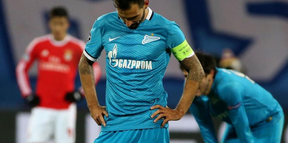 El Zenit en problemas ante el Rostov