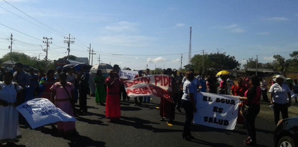 Mañana de cierres en la vía Panamericana por escuelas en mal estado