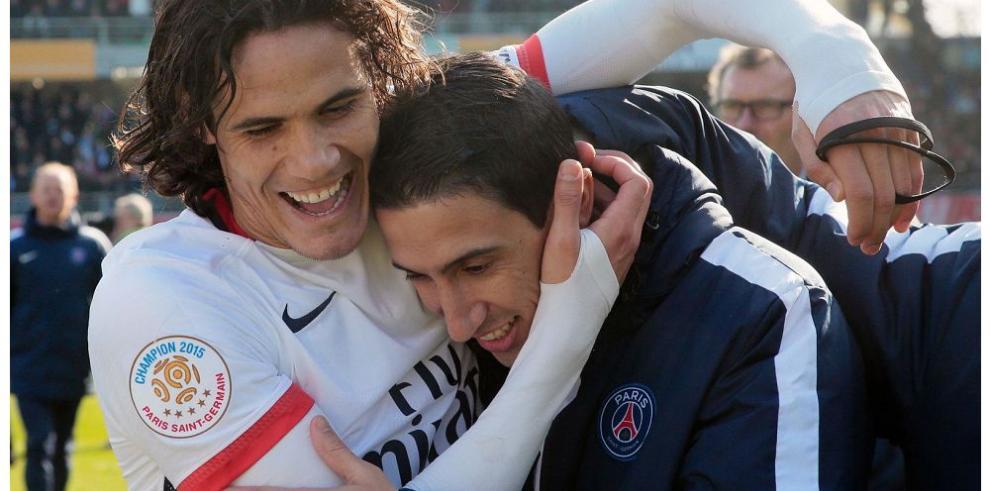 El PSG golea y sigue reinando en Francia