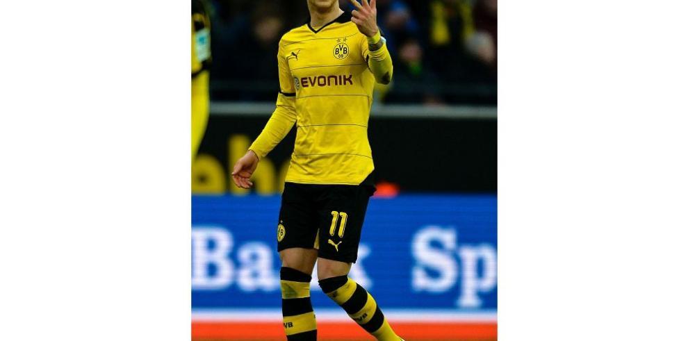 Dortmund no quita el pie del acelerador en la Bundesliga