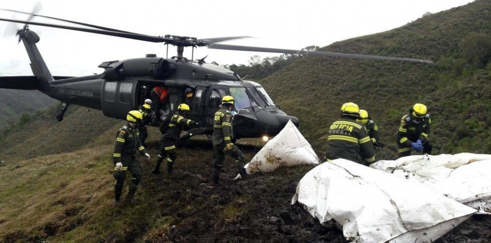 Rescatados 48 cuerpos del avión del Chapecoense