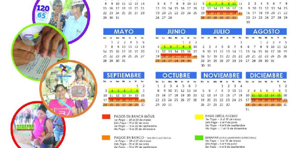 MIDES presenta nuevo calendario de pagos de programas sociales