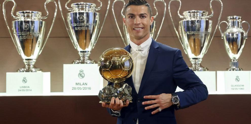 Cristiano Ronaldo se lleva el 'Balón de Oro'
