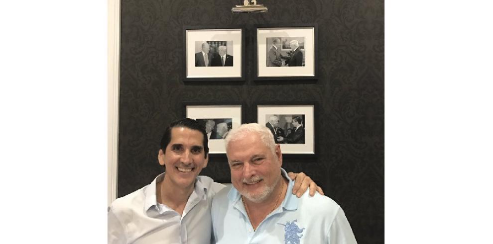 Ricardo Martinelli se reúne con su 'brother' Rómulo Roux en Miami