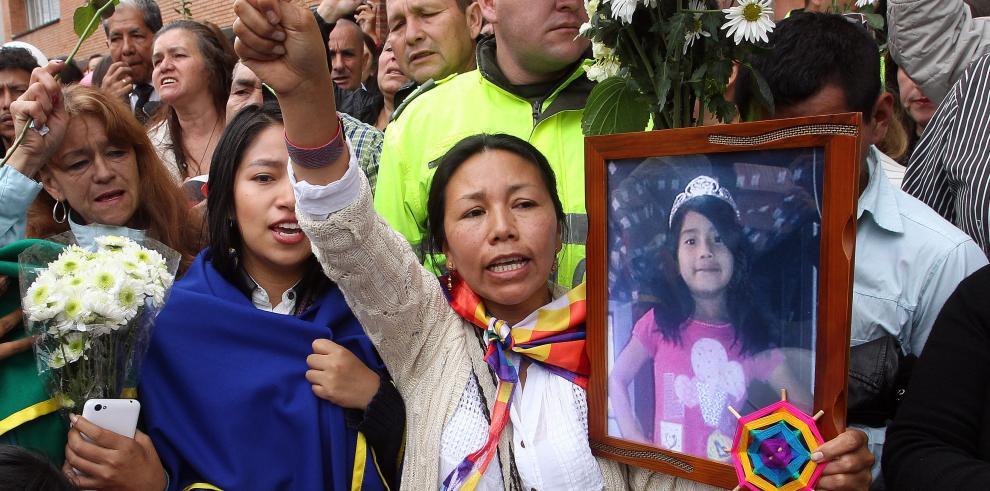 Semen vincula a sospechoso con asesinato de niña colombiana