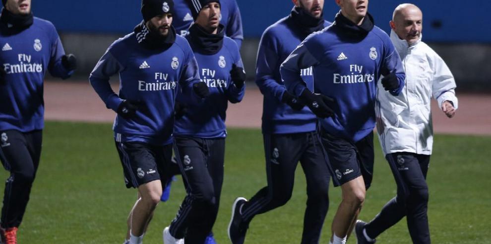 Real Madrid entrena en Japón con la mira puesta en el título