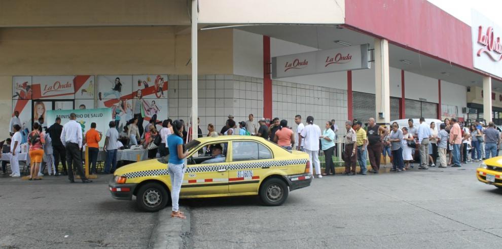 Realizan jornada de vacunación contra la influenza en San Miguelito