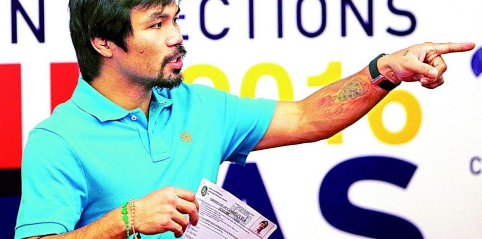 Pacquiao tiene todo listo para volver al cuadrilátero en noviembre